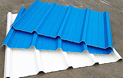 3 Layer Reinforced UPVC Roofing Sheet
